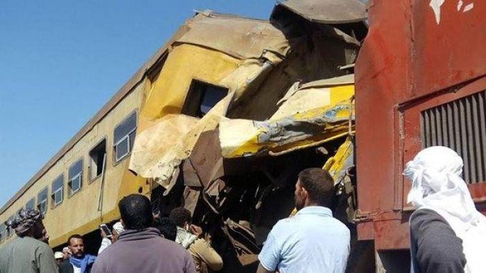 В Египте столкнулись грузовой и пассажирский поезда: 15 человек погибли