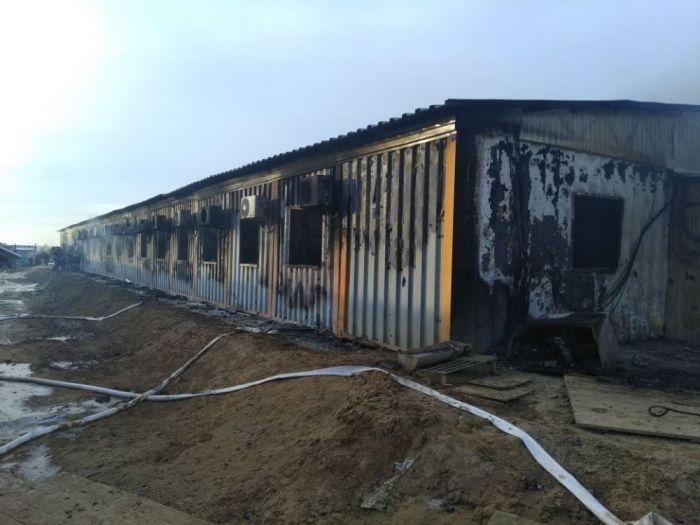Скончался еще один пострадавший при пожаре на Карабатане