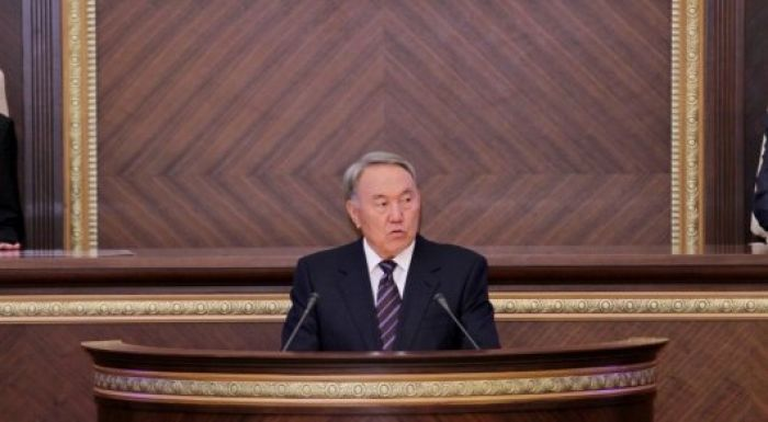 Назарбаев открыл совместное заседание палат Парламента