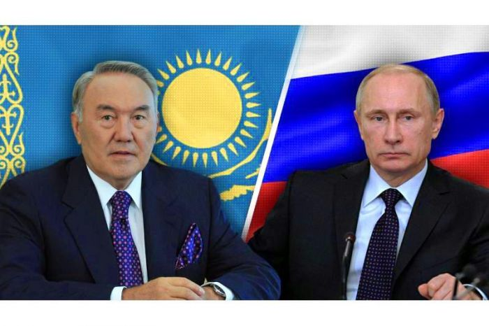 Нурсултан Назарбаев провел телефонный разговор с Владимиром Путиным