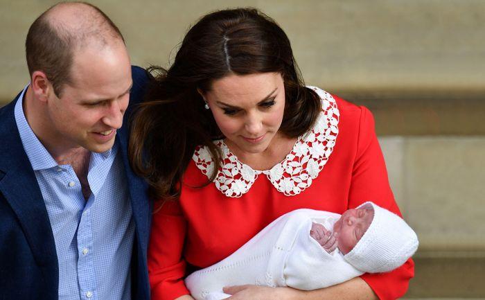 Королевская семья назвала имя новорожденного принца