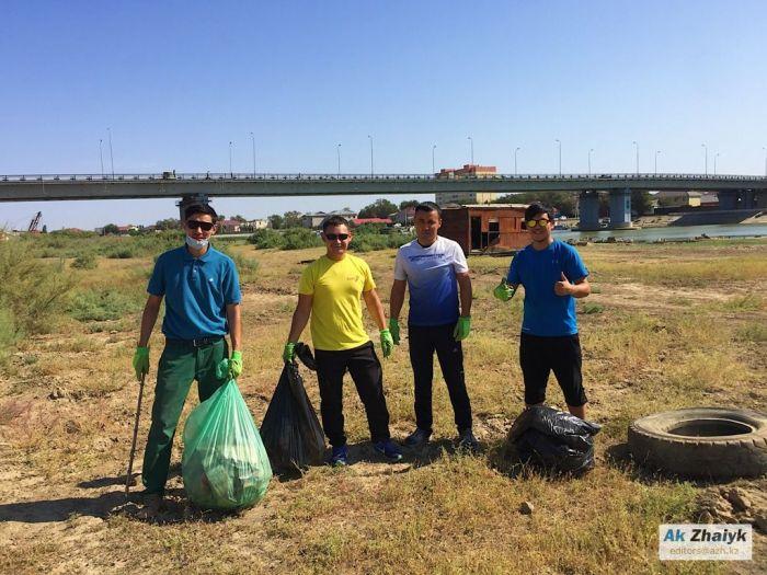 26 мая - за береговым мусором