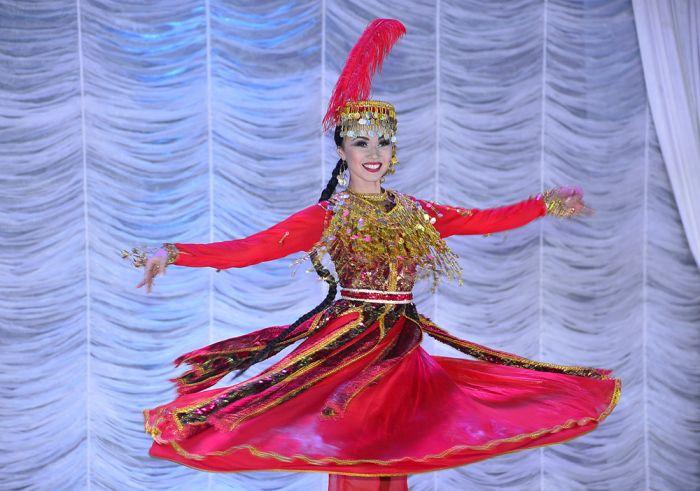 Праздник танца в Атырау