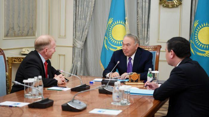 С Дональдом Трампом у нас сложились хорошие отношения - Назарбаев