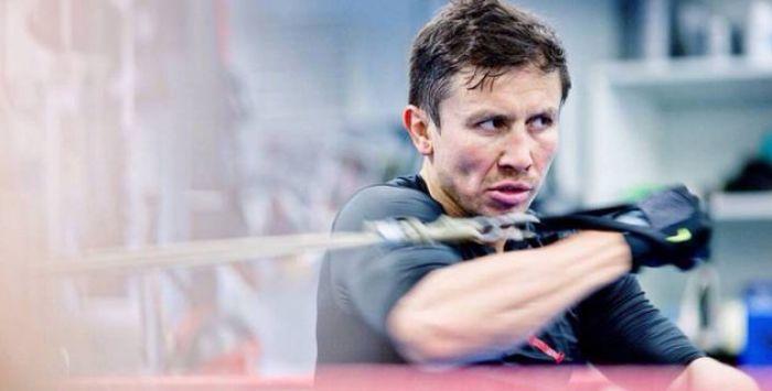 Головкин провел спарринг с чемпионом в полутяжелом весе