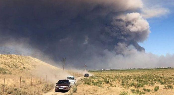 Взрыв в Арыси: экологи оценят ущерб окружающей среде после ликвидации пожаров