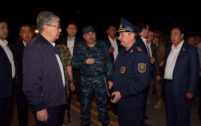 Глава государства совершил объезд города Арысь