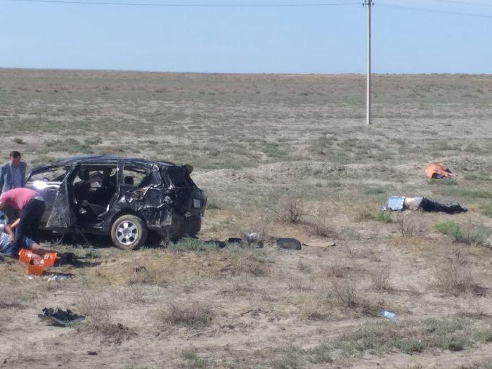 Два человека погибли в ДТП на трассе Атырау-Астрахань