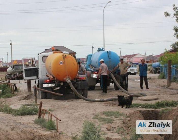 Услуги ассенизаторов в Атырау резко подорожали