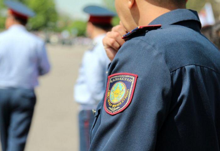 Полицейского зарезали и сожгли в Жамбылской области