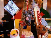 Казахский носок с подарками на Рождество