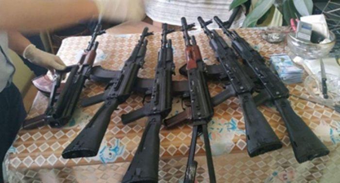 Боевое оружие нелегально производили в Шымкенте - КНБ