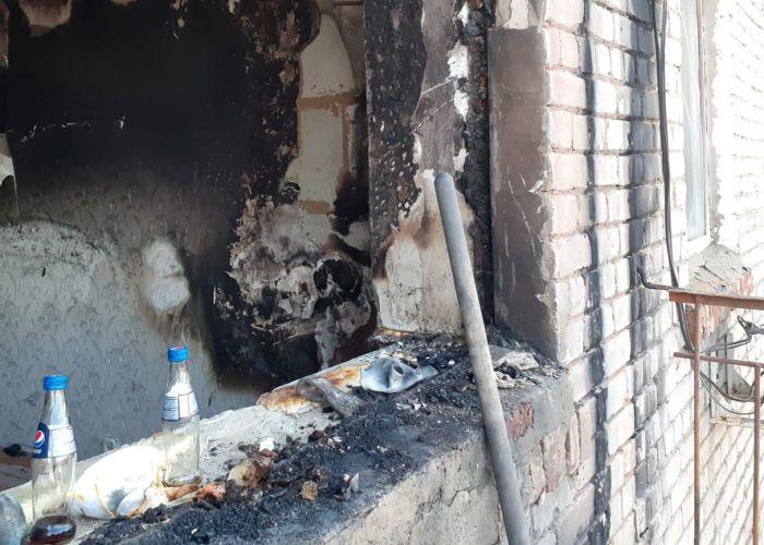 «Квартира полностью уничтожена»