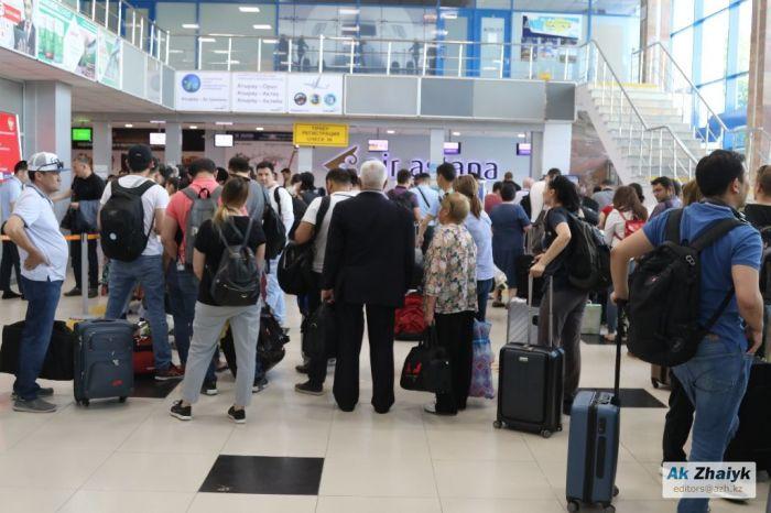 65  пассажиров из Стамбула прибыли в Атырау спецрейсом