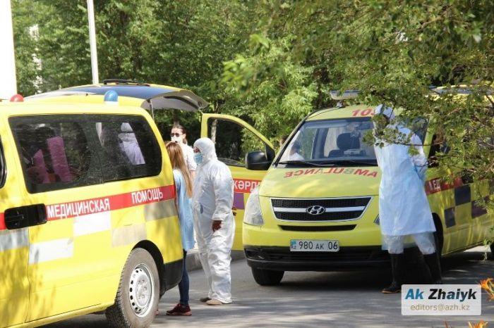 115 медиков заразились КВИ в Атырауской области