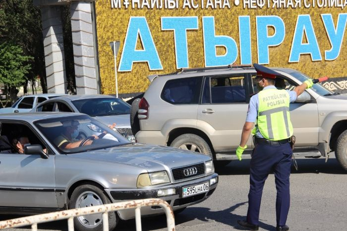 Первый день строгого карантина в Атырау – фоторепортаж «АЖ»