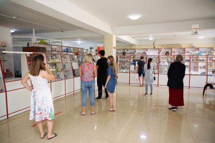 В какие аптеки Атырау доставлены завезённые лекарства