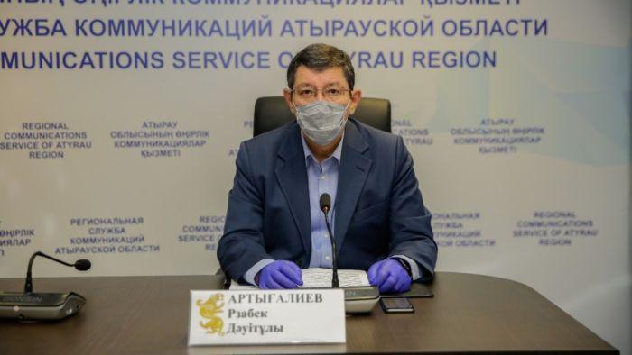 """Рзабек Артыгалиев: """"Работники, у которых выявляется коронавирус, на вахту не попадают"""""""