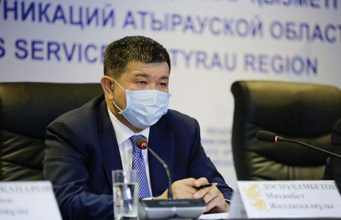 Аким Атырауской области: «Вторая волна врасплох не застанет»