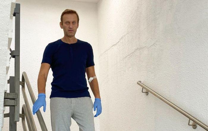 Навальный рассказал о своем состоянии после отравления
