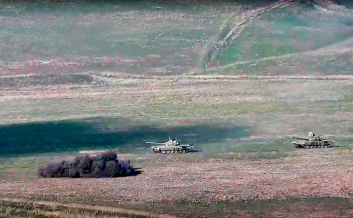 Минобороны Азербайджана заявило о более 550 убитых армянских военных