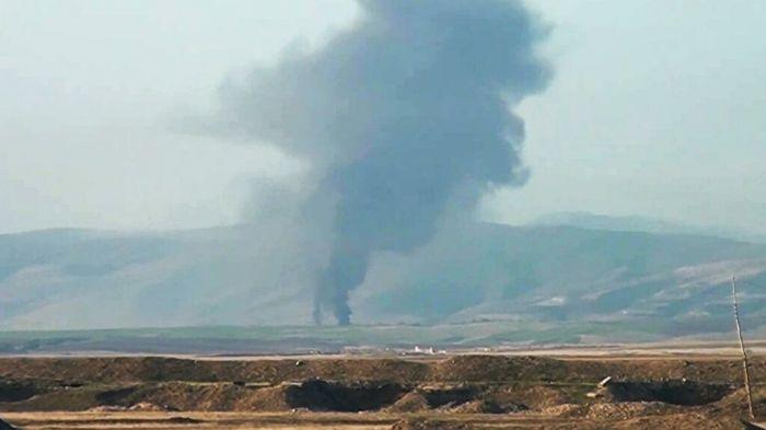 В Карабахе заявили, что сбили самолет ВВС Азербайджана
