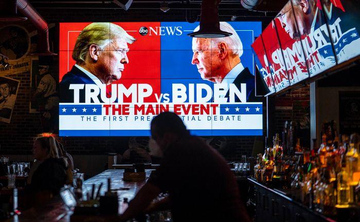 Аналитики назвали дебаты Трампа и Байдена «дном президентской политики»