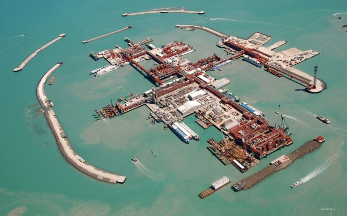 По дну Каспийского моря пророют каналы к островам Кашагана