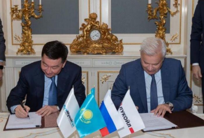«КазМунайГаз» и «Лукойл» возьмутся ещё за один участок на Каспийском море