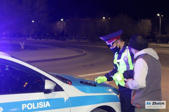 В Атырау водитель «армянского» авто наездил штрафов на миллион тенге