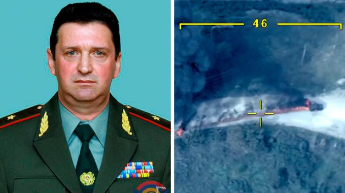 Азербайджан показал видео возможного убийства министра обороны Карабаха