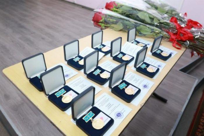 Журналистов наградили медалями «Халық алғысы»