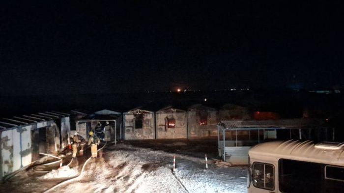"""На месторождении """"Бектас-Коныс"""" произошел пожар, погибли трое рабочих"""