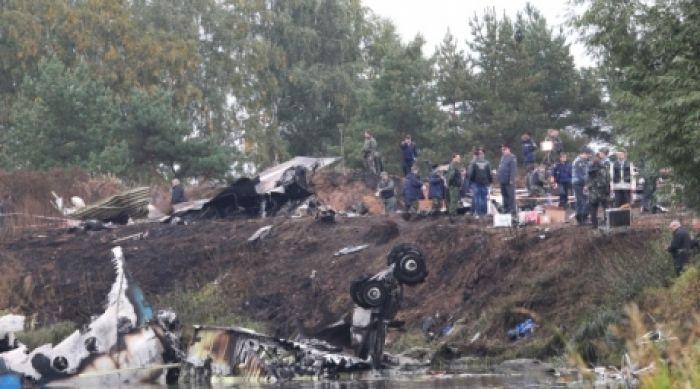 Причиной крушения Як-42 в Ярославле стал включенный стояночный тормоз