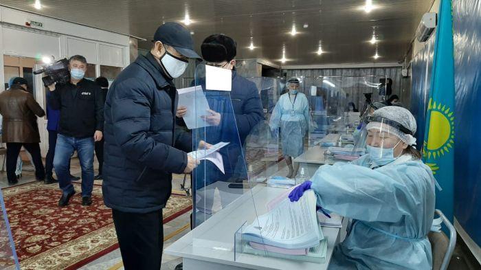 Парламентские выборы в Атырау. Онлайн