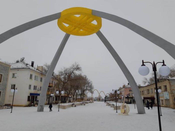 «Арбат» в Москве, а в Индерборском свой