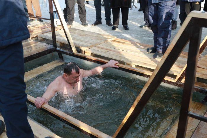 Крещение в Атырау