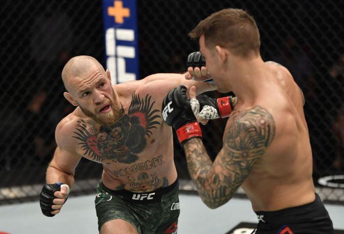 Макгрегор проиграл Порье в главном бою турнира UFC 257