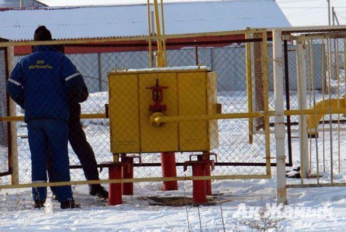 В Атырау холода ударили по газовым сетям