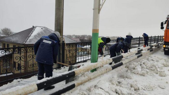 Снегопад в Атырау: вспомнился 16-й год
