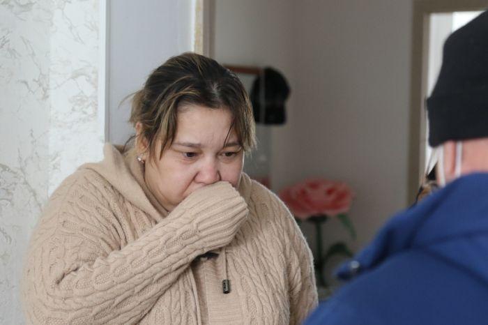 В съёмном доме едва не угорела мать с четырьмя детьми
