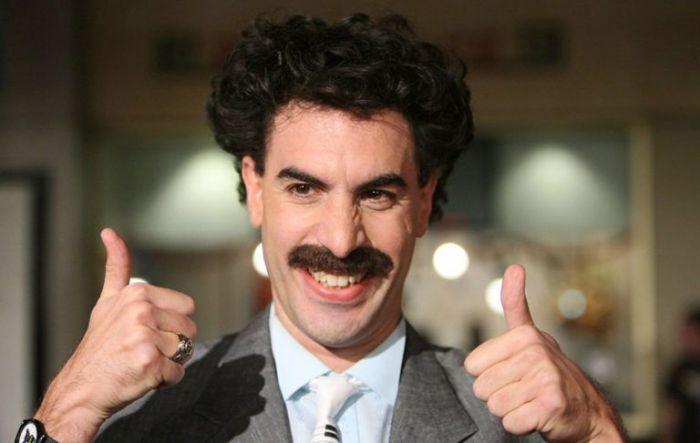 Саша Барон Коэн: «Мне сказали, что казахи приняли Бората с радостью»