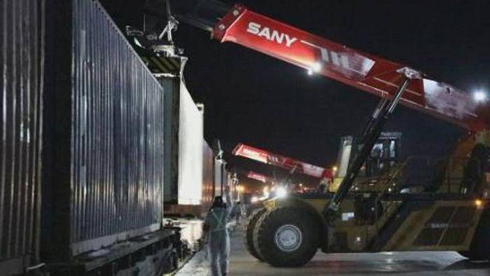 800 тонн удобрений из Узбекистана через Хоргос отправлены в Сиань