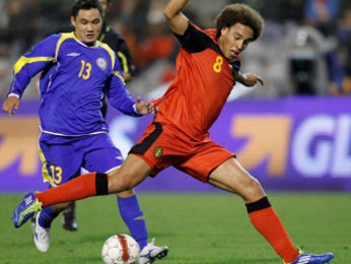 Казахстан потерпел крупное поражение от Бельгии