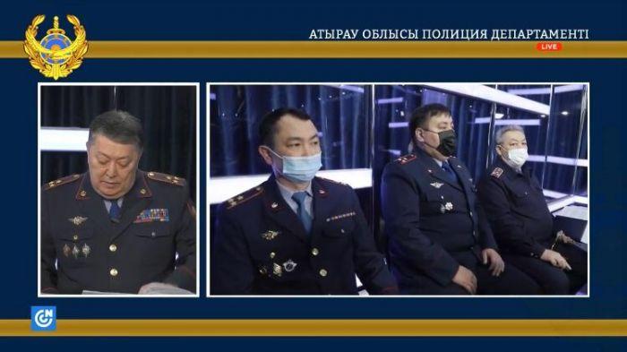 Главный полицейский Атырауской области не ответил на главный вопрос