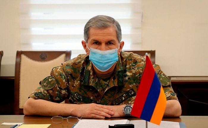 Правительство Армении объявило об увольнении главы Генштаба