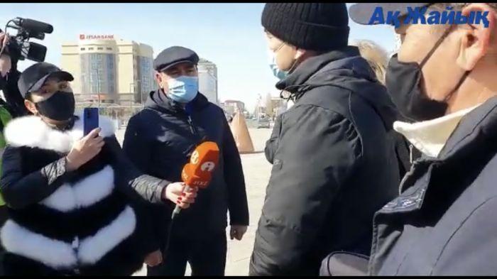 Гражданских активистов в Атырау обложили штрафами