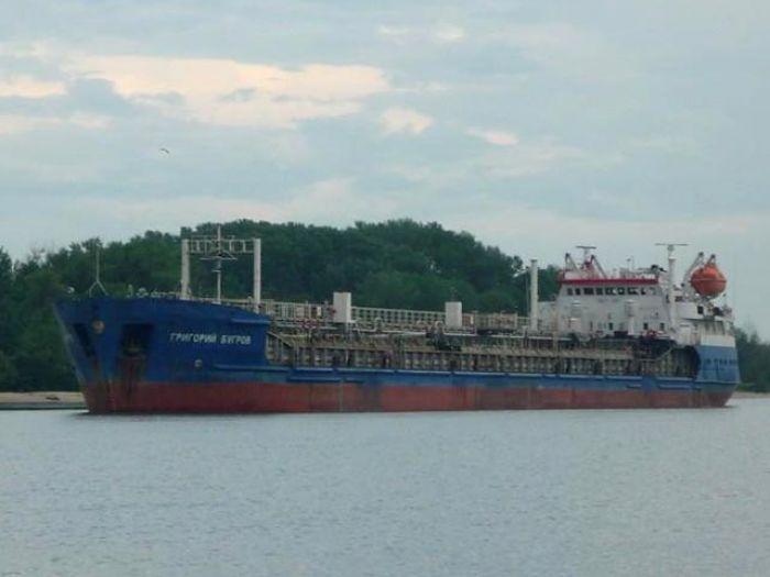 В Каспийском море получил пробоину танкер с шестью тысячами тонн мазута