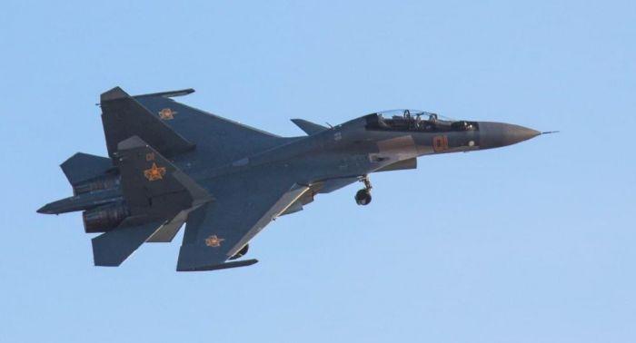 Истребитель Су-30 потерпел крушение в Казахстане