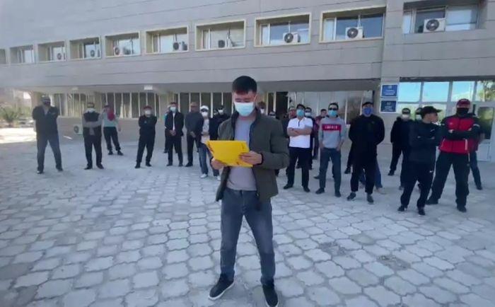 Рабочие из Жанаозена заявили о намерении провести забастовку